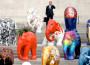 Gli elefanti invadono Milano, ma sono di pietra