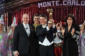 Flavio Togni col Clown d'Oro