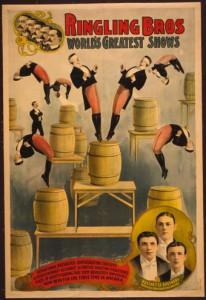 Un vecchio manifesto di Ringling