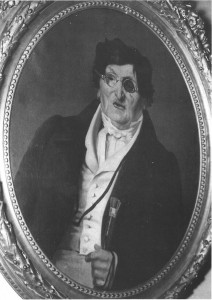 Un ritratto di Antonio Franconi negli ultimi anni della sua vita
