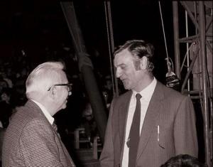 Walter Nones con Enzo Biagi