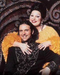 Moira col figlio Stefano