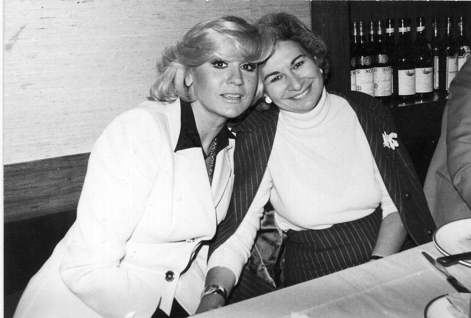 Serena Bassano e Liana Orfei