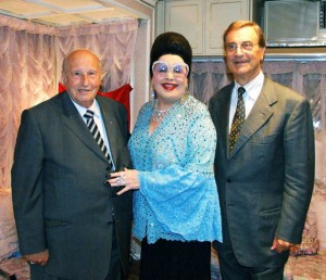 Con Moira e Alain Frére