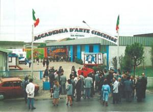 L'inaugurazione dell'Accademia nel 1988 a Verona