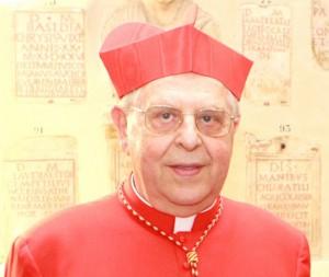 Il card. Vegliò, presidente del Pontificio consiglio dei Migranti