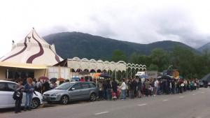 La città di Feltre ha riservato una calorosa accoglienza al circo Millennium