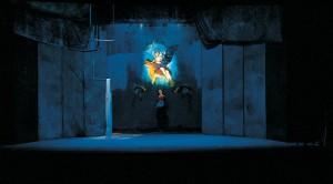 Alessandro Kokocinski ha anche realizzato diverse scenografie,  ad esempio per Lina Sastri, anche lei con una origine artistica nel circo