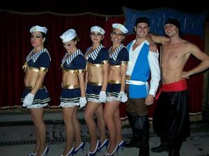 Marinarette e pirati. Le colonne del circo Acquatico di Marcello Dell'Acqua