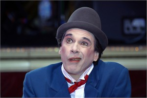 Il clown David Shiner