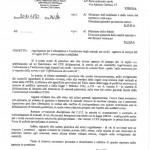 La lettera del Corpo Forestale dello Stato