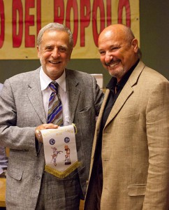 Il senatore Asciutti con Livio Togni