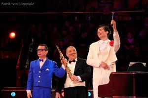 I comici musicali Sterza al Festival di Budapest