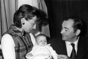 Adriana Togni col marito Salvino e la piccola Cristina