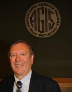 Il presidente Agis Carlo Fontana