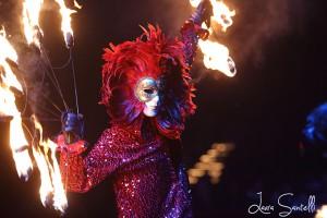 In questa foto e sopra (di Laura Santelli), due immagini degli spettacoli sulla pista del Golden Circus