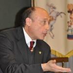 Il presidente Enc, Antonio Buccioni