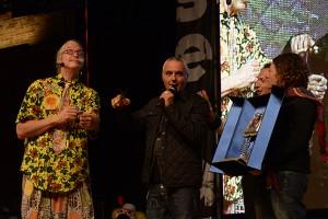 Giorgio Panariello e Patch Adams all'ultima edizione di Clown & Clown a Monte San Giusto