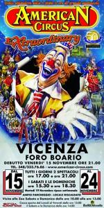Si parte da Vicenza, Foro Boario, dal 15 al 24 novembre