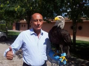 Antonio Buccioni con Olimpia