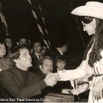Il grande Giuliano Gemma al circo Americano