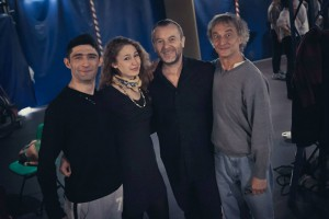 Daniel Romilla, Cecilia Zucchetti, Alessandro Serena e Claudio Madia