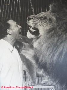 Pablo Noel, una delle star dell'American Circus negli anni d'oro