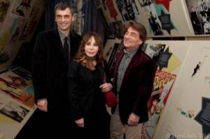 Jordi Jané con Paulina Schumann e Raffaele De Ritis