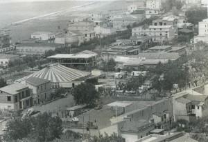 Qui e in basso, due immagini storiche del circo Demar
