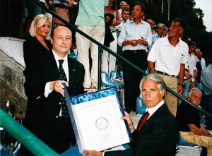 Antonio Buccioni e Giovanni Malagò