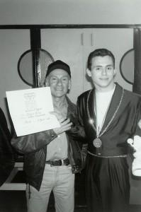 Lucio e Glen Nicolodi