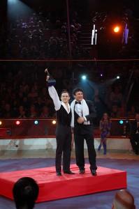 Glen premiato col Bronzo al Festival di Budapest da David Larible