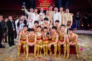 Foto di gruppo per i vincitori