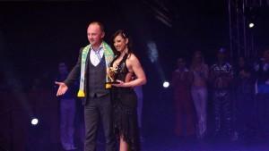 La premiazione di Romy Meggiolaro