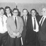 Angelo D'Amico, Giorgio Montico, Roberto Bellucci, Antonio Buccioni, Sergio Casu e Armando Bellucci