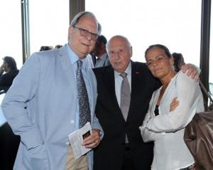 Urs Pilz, Alain Frère e Stephanie di Monaco (foto da museeducirquealainfrere.com)