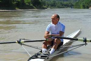 In canoa (foto Barberi)