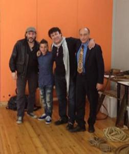 Massimo Ceccherini, Maicol Martini, David Larible e Antonio Buccioni