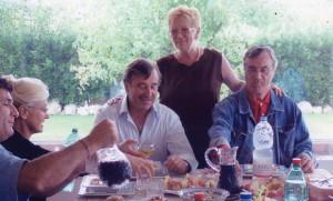 "Loredana Nones insieme a Massimiliano ""Giuseppe"" e Walter"