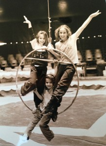 Da piccola al circo