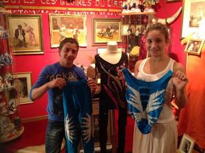 Con il costume di Raùl Jimenez