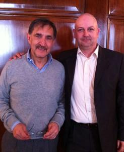 Ignazio La Russa con Gianluca Cavedo