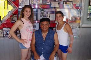 Angela, Rene e Maicol