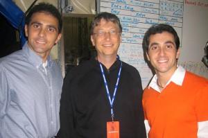 Insieme a Bill Gates