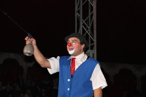 Il clown Nicola Pirino