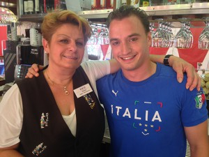 Denise con Guido