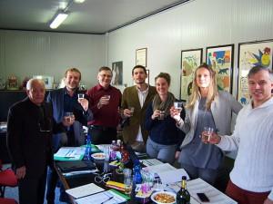 I partner del progetto riuniti all'Accademia del Circo di Verona