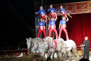 Il Circo Americano sarà a Genova fino al 15 marzo (foto Piero Messana)