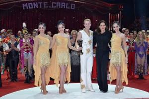 La principessa Stephanie premia Elvis Errani al Festival di Montecarlo (foto Charlie Gallo)