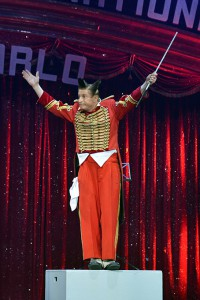 Il Clown d'Oro Gianni Fumagalli (foto Charlie Gallo)